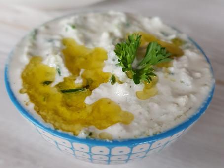Raw tzatziki (lchf & paleo)