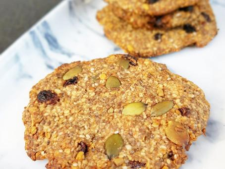 Amningskakor – kakorna som hjälper din amning (veganska, glutenfria & mjölkfria)