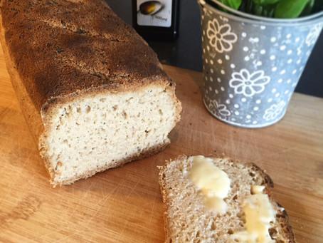 Saftig limpa med durra & teff (det perfekta brödet utan gluten, mjölk, ägg eller nötter)