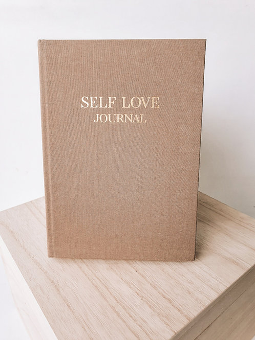 SELF LOVE JOURNAL BEIGE CASHMIERE