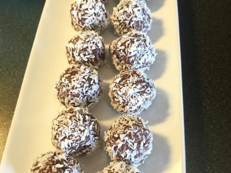 Godaste raw chokladbollarna