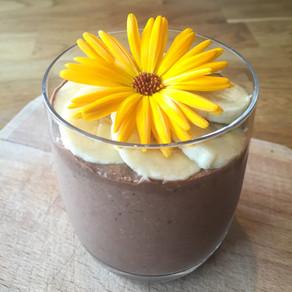 Overnight oats med smak av mjölkchoklad