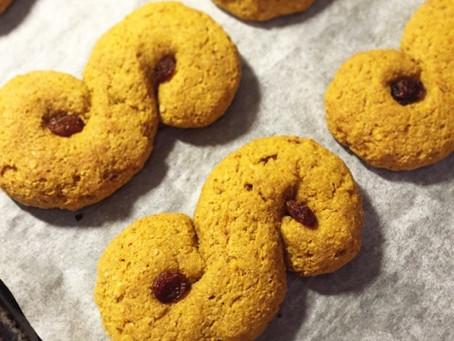 Ljuvliga lussekatter (utan gluten, mjölk, vitt socker och nötter)