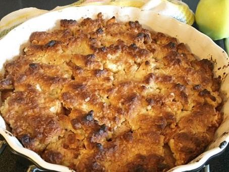 Älskade äppelpaj (glutenfri, sockerfri & mjölkfri)