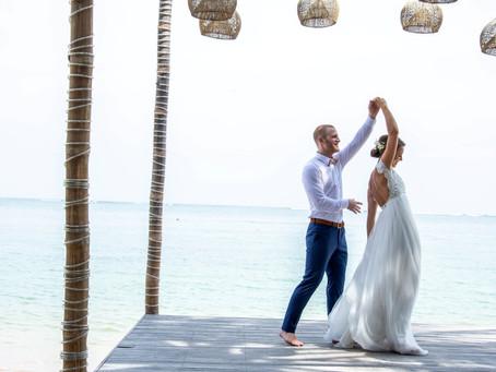 Vårt bröllop på Bali