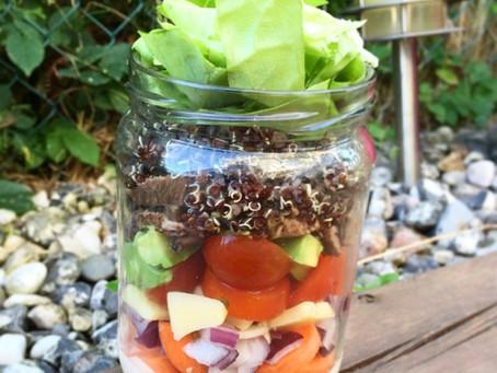 Salad in a jar – så gör du!