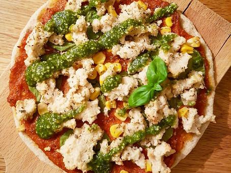 Den perfekta pizzabotten (plantbaserad utan gluten, mjölk, nötter, jäst eller ägg)