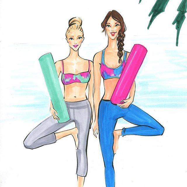 Bildresultat för illustration yogis friends