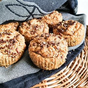 Fantastiska frukostmuffins (glutenfria & mjölkfria)