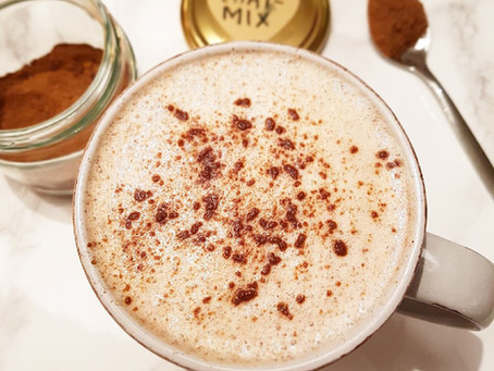 Chai latte (mjölkfri, plantbaserad, lchf & paleo)