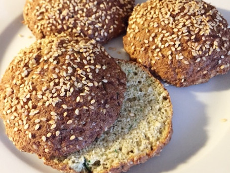 Zucchinibröd (lchf & paleo)