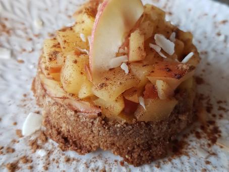 Äppelpaj som frukost