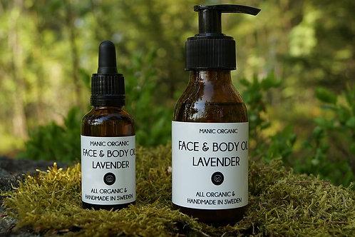 Manic Organic Face & Body oil