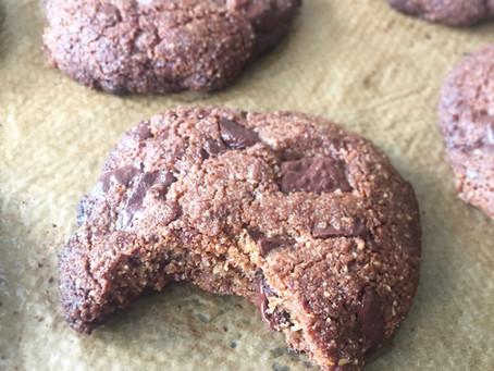 Chocolate chip cookies (paleo, lchf & plantbaserae)