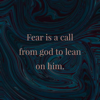 Casting out Fear