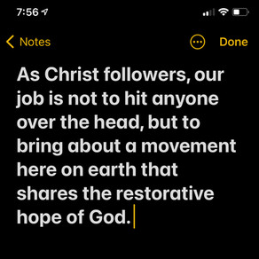 Our Role as a #ChristFollower