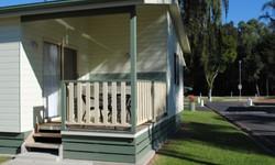 Superior Spa Cabin Patio