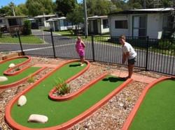 Pleasurelea facilities mini golf