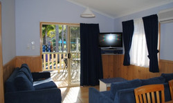 Superior Spa Cabin Living Room