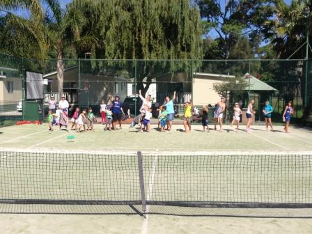 Pleasurelea Batemans Bay tennis cour