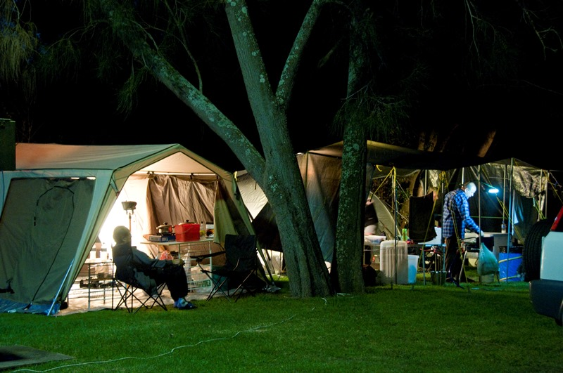 Pleasurelea camping nightlife
