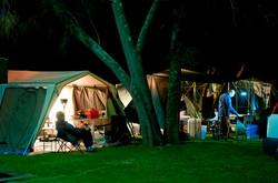 Pleasurelea camping nightlife