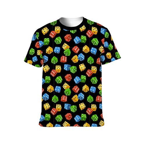 Colorful Dice Unisex Shirt