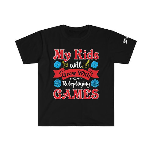 My Kids Will Grow with RPG T-shirt