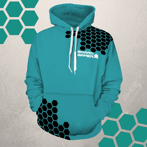 Hexagon Board Gamer Hoodie