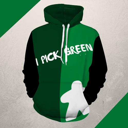 Pick Green Hoodie