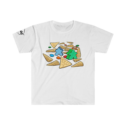 Snacks and Games Unisex T-shirt