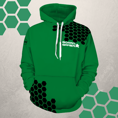 Hexagon Board Gamer Hoodie
