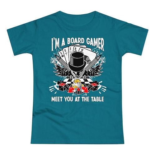 I'm a Board Gamer Women's T-shirt