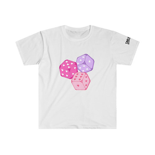 Dice With Hearts T-Shirt
