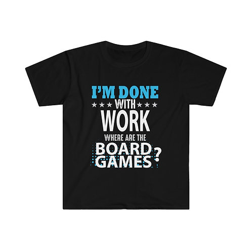 Done With Work BG T-shirt