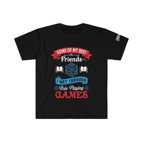 Best Friends RPG T-shirt
