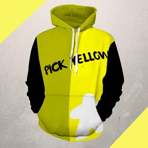Pick Yellow Hoodie