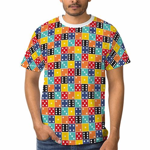 Dice Mosaic Unisex Shirt