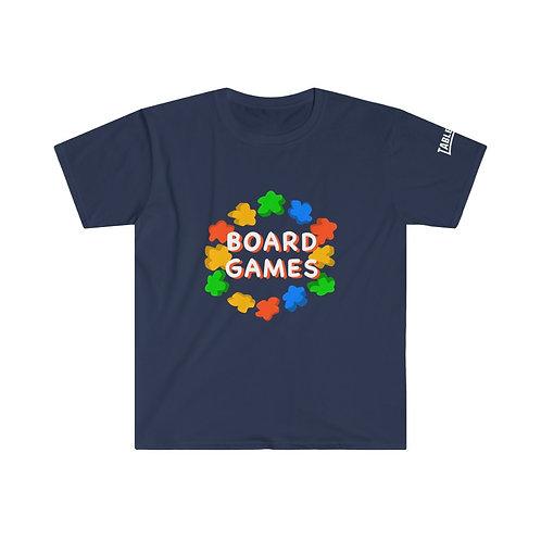Board Game Meeple Circle T-Shirt