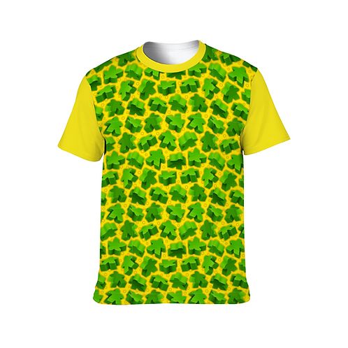 Green Meeple Unisex Shirt
