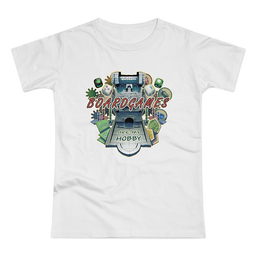 Boardgames Tower Women's T-shirt