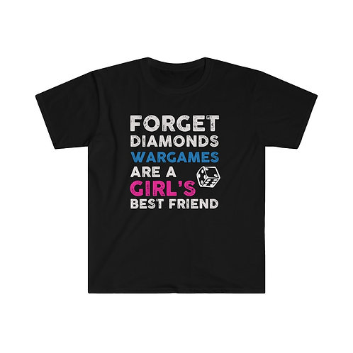 Girl's Best Friend Wargames T-shirt