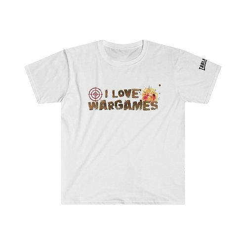 I Love Wargames T-shirt