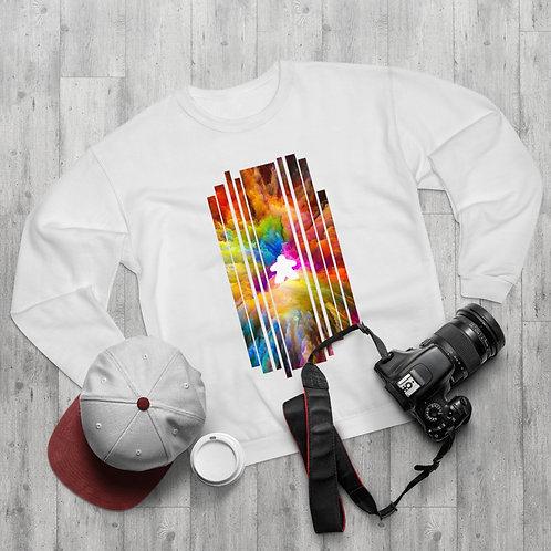 Colorful Explosion Meeple Sweatshirt