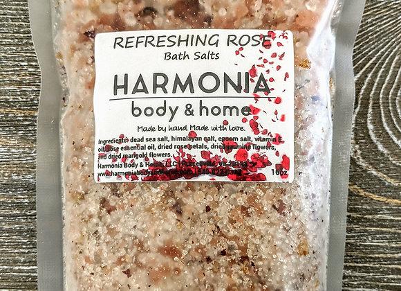 Refreshing Rose Salt Soak