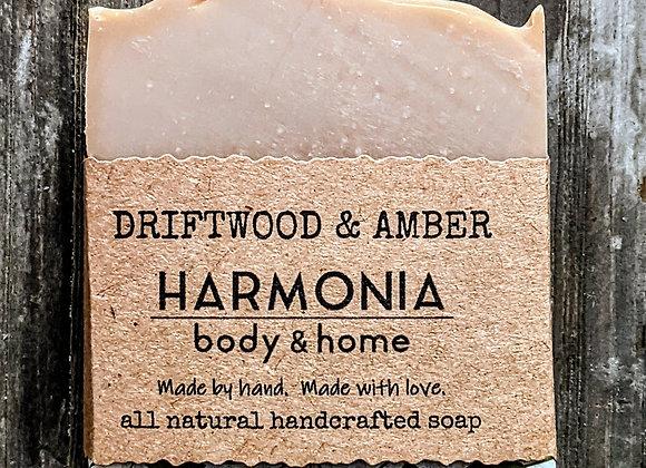 Driftwood & Amber Soap