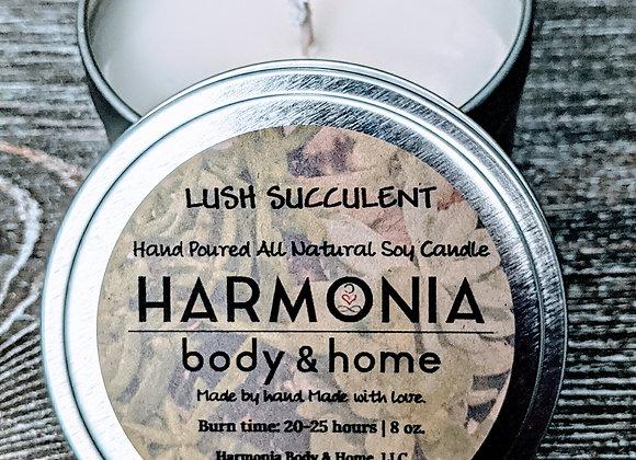 Lush Succulent Candle
