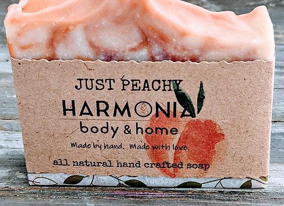 Just Peachy Soap