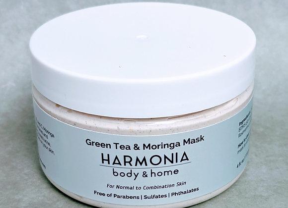 Green Tea & Moringa Detox Face Mask