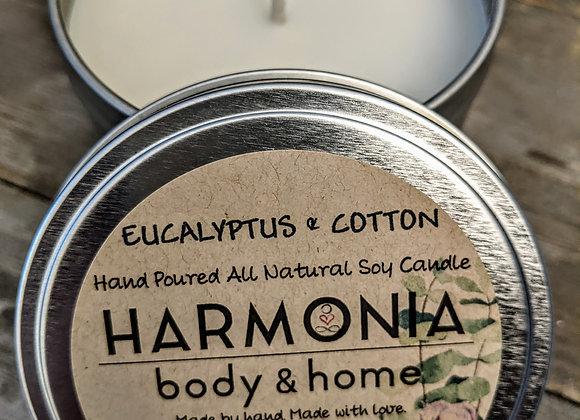 Eucalyptus & Cotton Candle